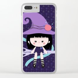 Taylor Witch Clear iPhone Case