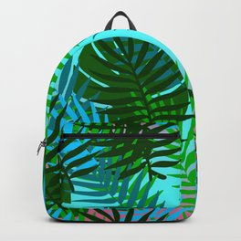 Hawaiian Style Pattern Backpack
