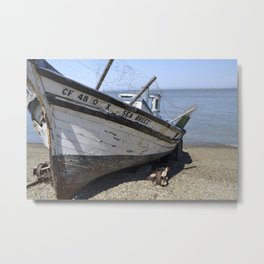 Shrimp Boat I Metal Print