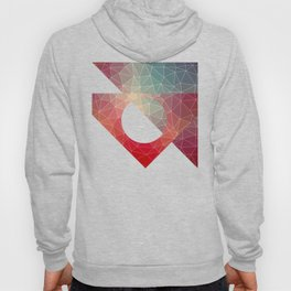 Abstract Geometric Triangulated Design Hoody