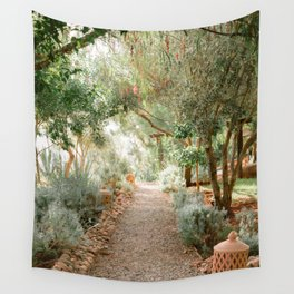 Botanical paradise | Morocco travel photography Wall Tapestry