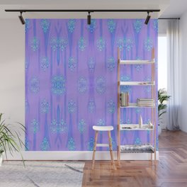 Cotton Candy Turquoise Wall Mural