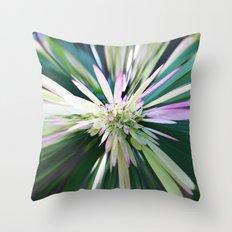 447 - Abstract Flower Design Throw Pillow