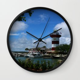 Harbour Town Light Wall Clock