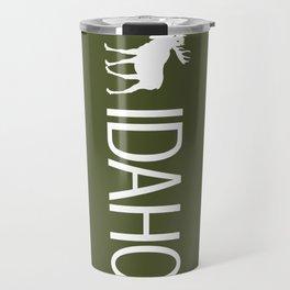 Idaho: Moose (Mountain Green) Travel Mug