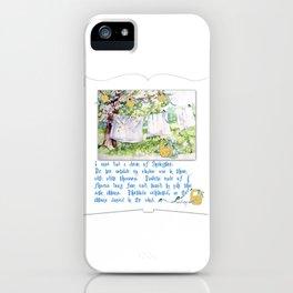 Springtime Dreams iPhone Case