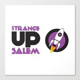 Strange Up Salem Logo Canvas Print