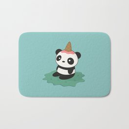 Kawaii Cute Panda Ice Cream Bath Mat