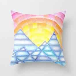 Klee Inspiration N°2 Throw Pillow