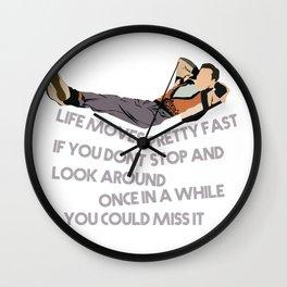 Ferris Bueller Wall Clock