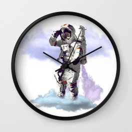 Dreamer - Astronaut on Cloud Wall Clock