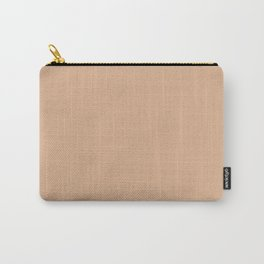 Sheepskin Beige   Solid Colour Carry-All Pouch