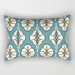Retro pattern style 60s Rectangular Pillow