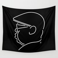 notorious Wall Tapestries featuring Notorious by Ant Errickson