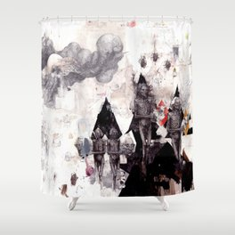 Faces of Death Shower Curtain