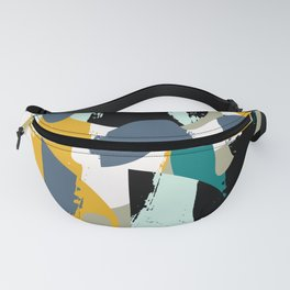 Mid-Century Abstract Fanny Pack