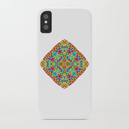 Four Owls Mandala iPhone Case