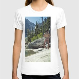 Emerald Green Alpine Lake T-shirt