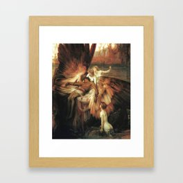 Mourning for Icarus - Draper Herbert James Framed Art Print