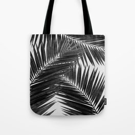 Palm Leaf Black & White III Tote Bag