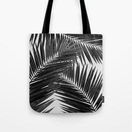 Palm Leaf Black & White III Tote Bag