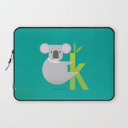 K for Koala Laptop Sleeve