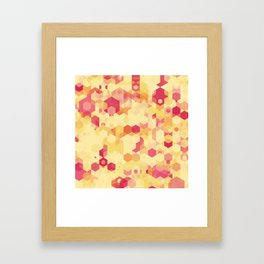 Hexa-Lazer-Icecream Framed Art Print