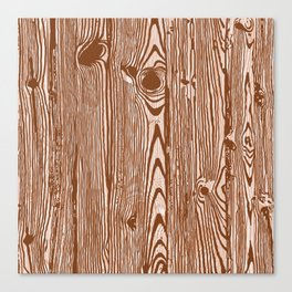 c13D Woodgrain Canvas Print