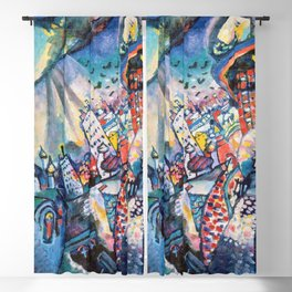 Moscow by Wassily Kandinsky Blackout Curtain