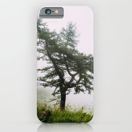 A lonely tree iPhone Case