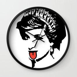 Princess Diana Tongue Art Wall Clock