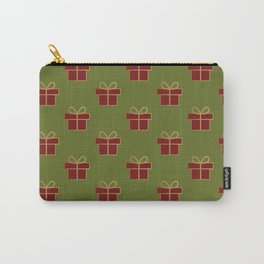 Christmas gift pattern Carry-All Pouch