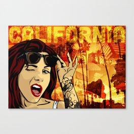 California Dreamin' Vol2 Canvas Print