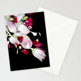 Scattered Flowers Stationery Cards