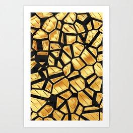 Goldie VIII Art Print