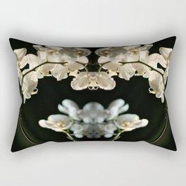Orchid flowers Rectangular Pillow