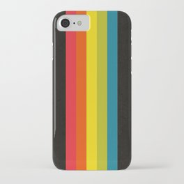 Retro Camera Color Palette iPhone Case