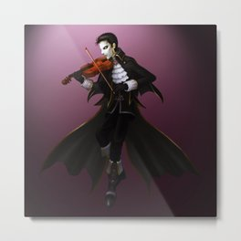 The Music of the Night Metal Print