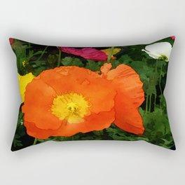 Poppies One Rectangular Pillow