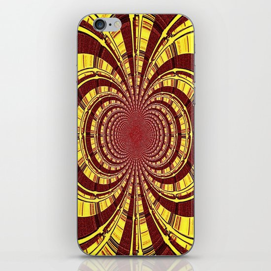 KALEIDOSCOPIQUE iPhone & iPod Skin