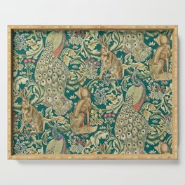 The Forest  William Morris Serving Tray