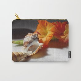 Gladiolas and sea shells Carry-All Pouch