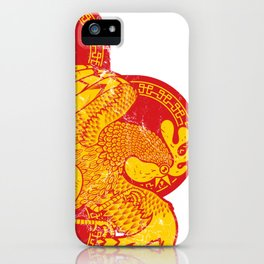 Rooster fire iPhone Case