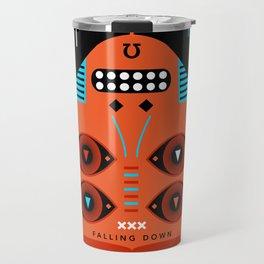 TAROT. XII- Le Pendu Travel Mug