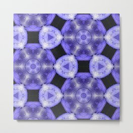 Purple Passion Pattern 6 Metal Print