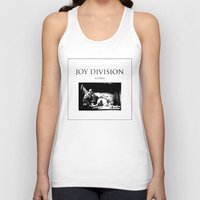 joy division Tank Tops featuring Joy Division - Closer by NICEALB