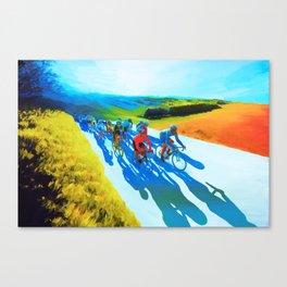 New Road Canvas Print