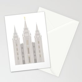 Salt Lake City Utah Temple Stationery Cards