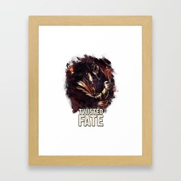 TWISTED FATE - League of Legends Framed Art Print