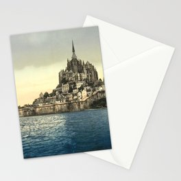 Mont Saint-Michel - Normandy, France Stationery Cards